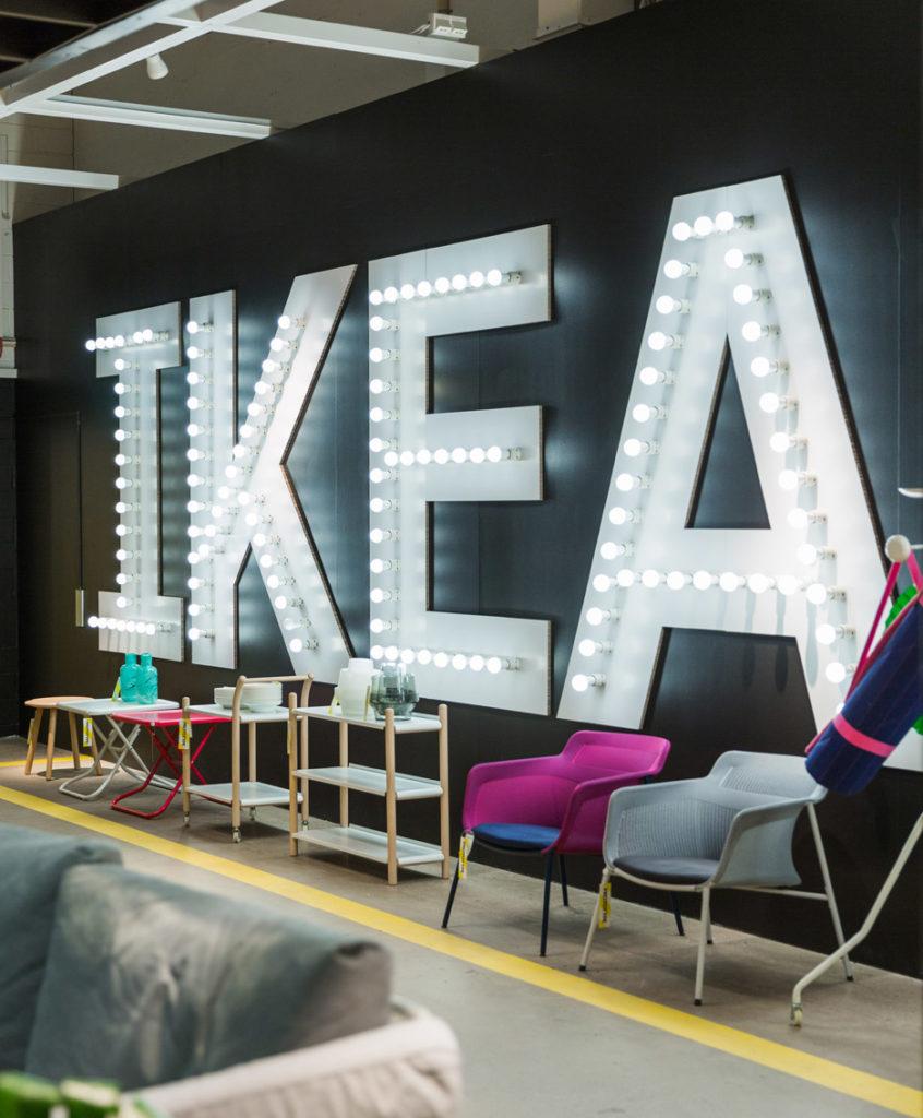 IKEA PS17 termékcsalád-újrahasznosított anyagból
