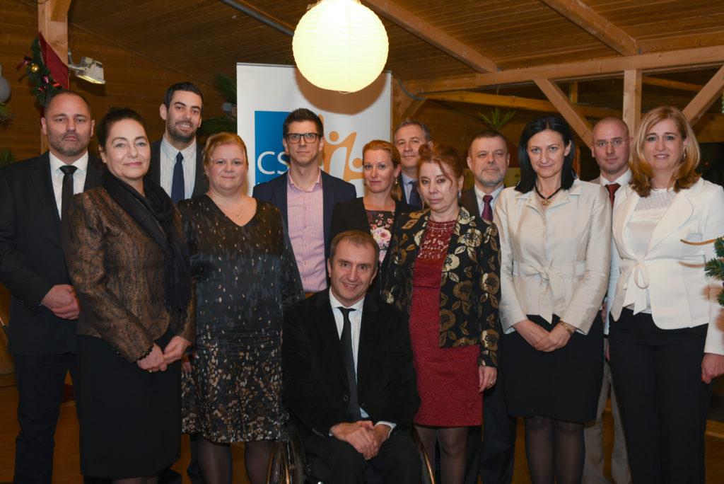 CSR Hungary Díj 2016 Díjátadó (nyertesek és Bíráló tagok)