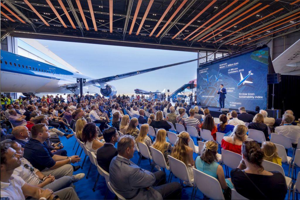 A 100 éves kLM a felelős és fenntartható közlekedésért