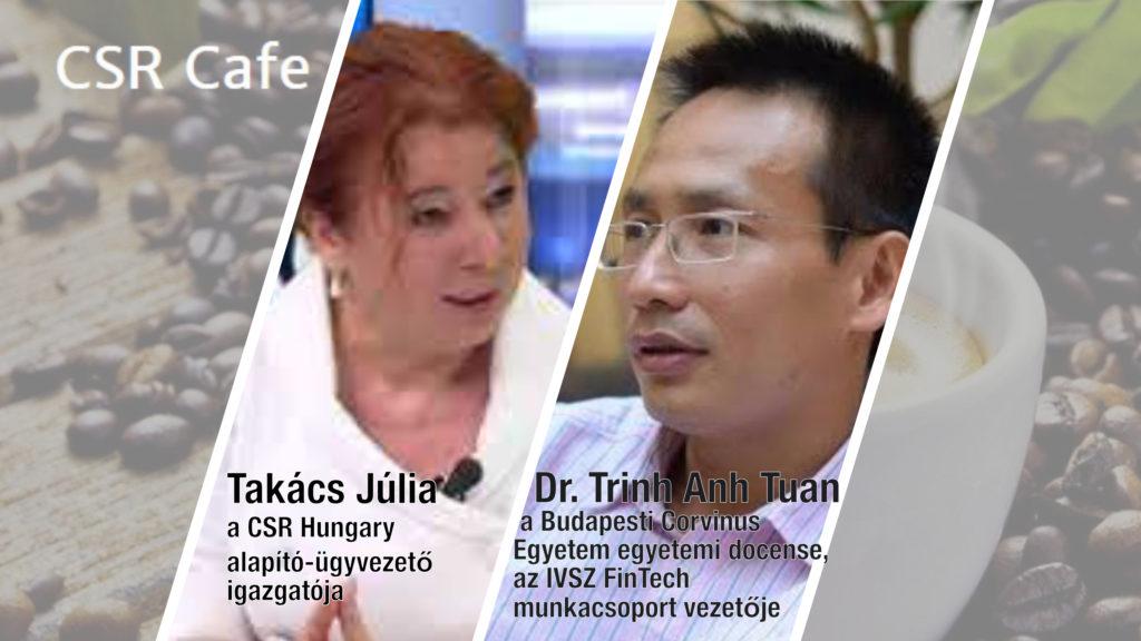 CSR Cafe/Vendég:DR. Trinh Anh Tuan