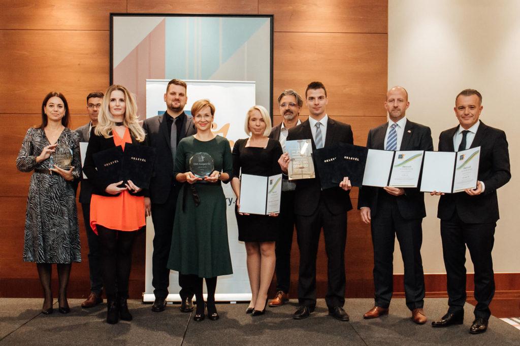 2020-as CSR Hungary díjazottjak